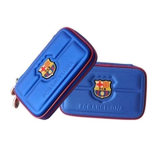 3ds / dsi / ds lite carry case custodia barcelona blu talismoon