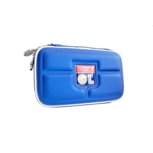 3ds / dsi / ds lite carry case custodia olympique lione blu talismoon