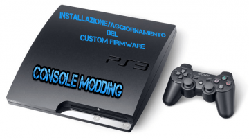 Aggiornamento Modifica PS3 Custom Firmware