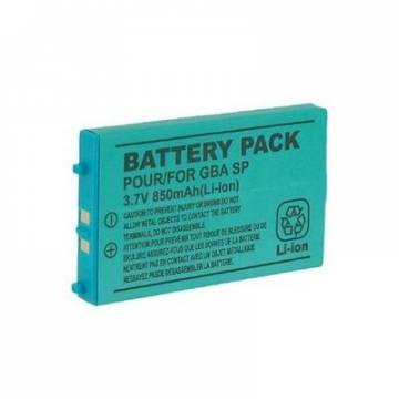 BATTERIA LITIO DI RICAMBIO PER NINTENDO GAMEBOY ADVANCE SP 850mah