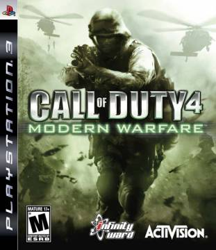 Call of Duty 4 Modern Warfare per PS3