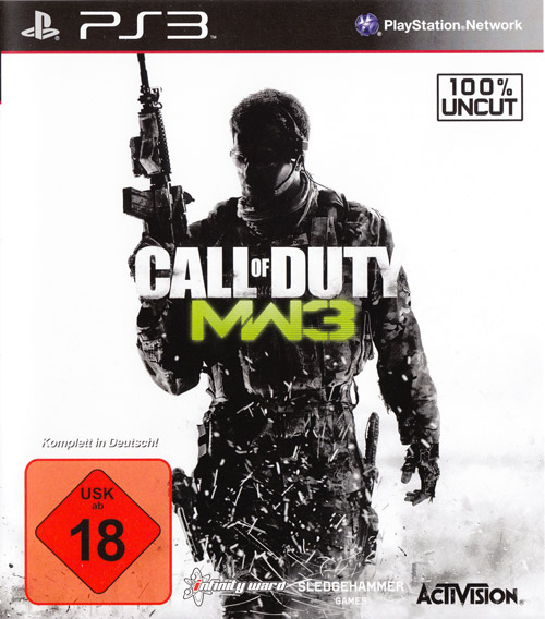 Call of Duty Modern Warfare 3 per PS3