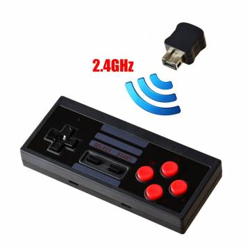 Controller wireless 2.4ghz Compatibile per console Nintendo MINI NES 2016