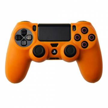 cover in silicone arancio per controller ps4 dual shock 4