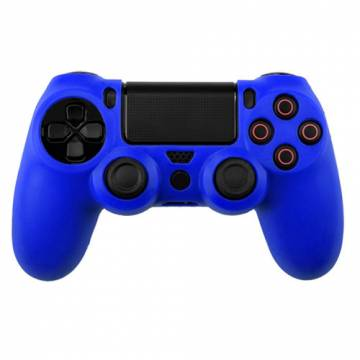 cover in silicone blu scuro per controller ps4 dual shock 4
