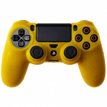 cover in silicone giallo per controller ps4 dual shock 4