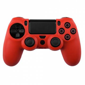 cover in silicone rosso per controller ps4 dual shock 4