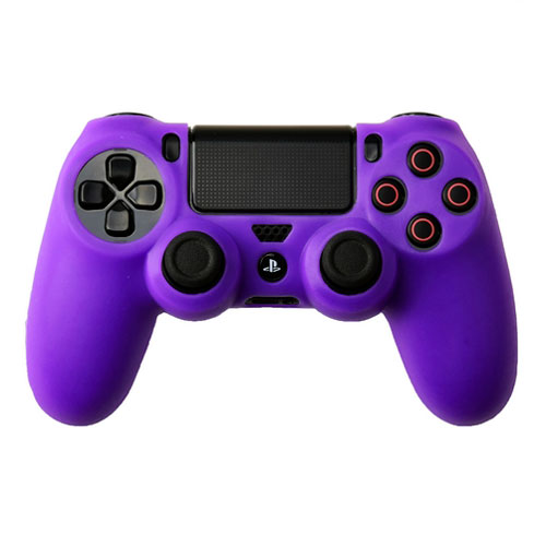 cover in silicone viola per controller ps4 dual shock 4