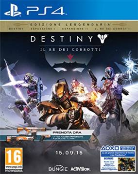 Destiny Legendary Edition per PS4