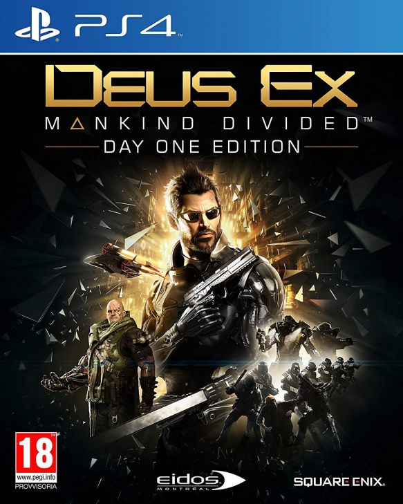 Deus Ex Mankind Divided Day One Edition per PS4