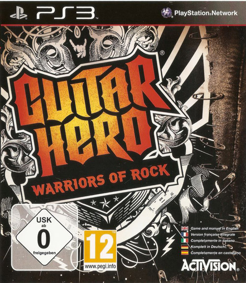 Guitar Hero Warriors of Rock per PS3