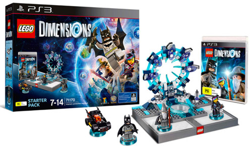 Lego Dimensions Starter Pack per PS3