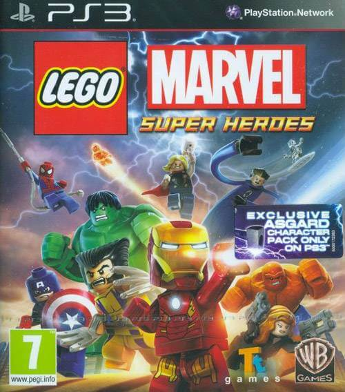 Lego Marvel Super Heroes per PS3