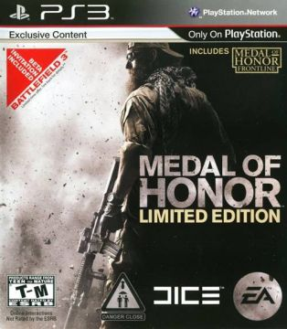 Medal of Honor Tier 1 Edition per PS3