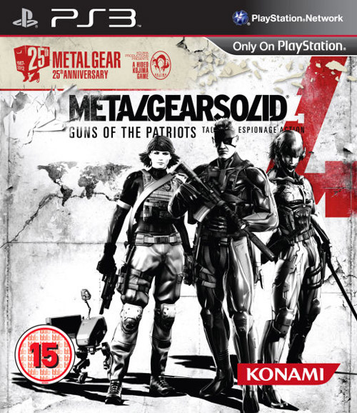 Metal Gear Solid 4 Guns of the Patriots Tactical Espionage Action per PS3