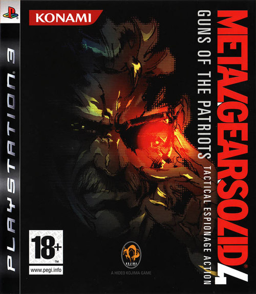 Metal Gear Solid 4 Guns of the Patriots per PS3