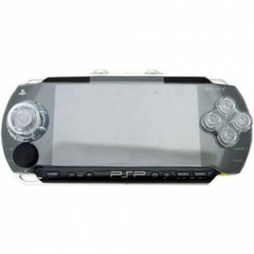 psp 1000 mini d-pad crystal cover dragon