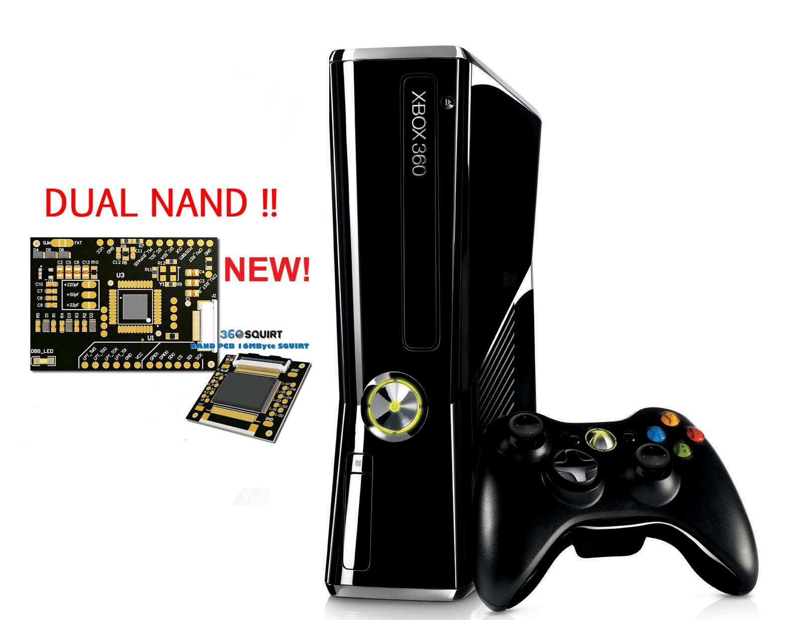 Modifica Xbox 360 | RGH + Dual Nand + DashLaunch + Freestyle + XEX Menu