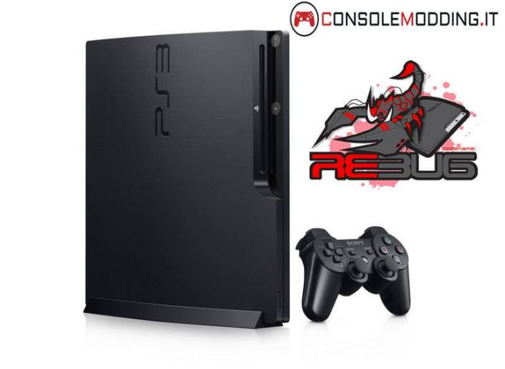 PS3 Slim Modificata con Custom Firmware + Homebrew Pack