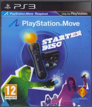 Playstation Move Starter Disc per PS3