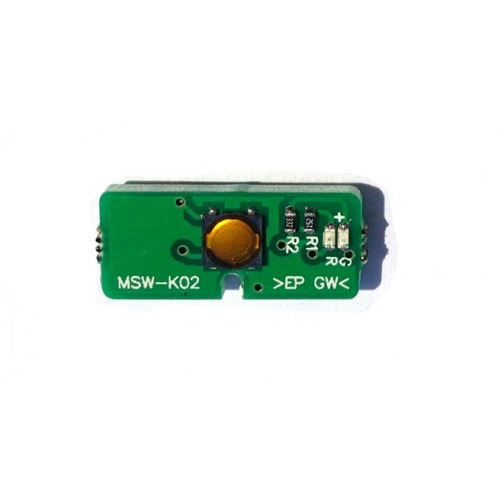power switch board pcb accensione on off msw-k02 per ps3 ultra slim
