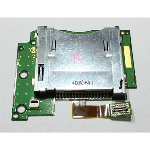 slot 1 card socket con pcb di ricambio per nintendo new 3ds xl