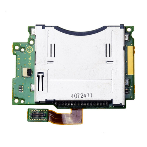 slot 1 card socket con pcb di ricambio per nintendo new 3ds