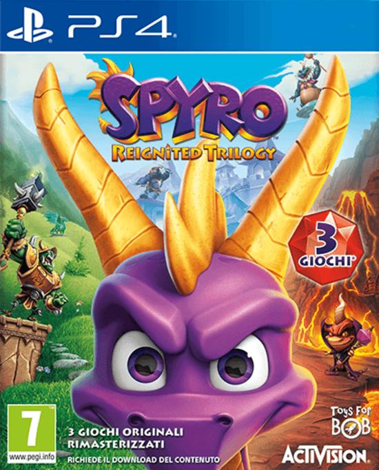 Spyro Reignited Trilogy per PS4