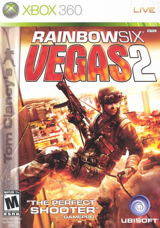 Tom Clancy's Rainbow Six Vegas 2 per Xbox 360