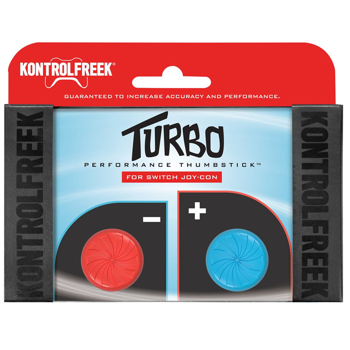 Turbo Performance Thumbsticks per Joy-Con Nintendo Switch (Rosso/Blu)