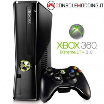 Xbox 360 Slim modificata con Flash del lettore - LT3.0/LTU2