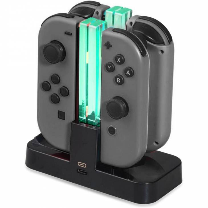base charging dock ricarica joy-con controller dobe per nintendo switch