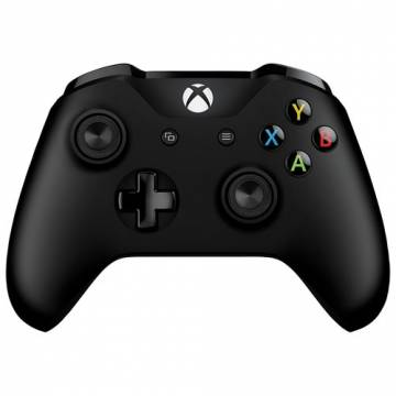 controller wireless xbox one nero v2 microsoft