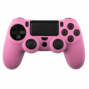 cover in silicone rosa per controller ps4 dual shock 4