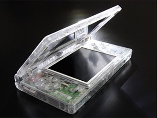 dsi case di ricambio eye candy shell xcm crystal clear