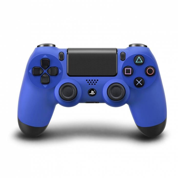 dual shock 4 wireless controller ps4 blu Wave Blue sony V2
