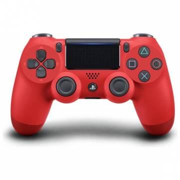 dual shock 4 wireless controller ps4 magma red rosso sony V2