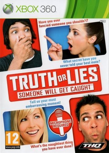 gioco truth or lies import per xbox 360