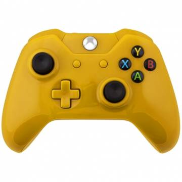 guscio cover di ricambio per controller wireless xbox one giallo lucido