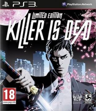 ps3 gioco killer is dead limited edition import
