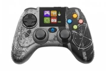 ps3 wildfire evo wireless bluetooth controller con lcd datel