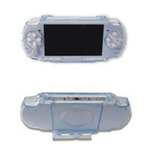 psp 2000 / 3000 ultra slim crystal case e stand 2in1 dragon