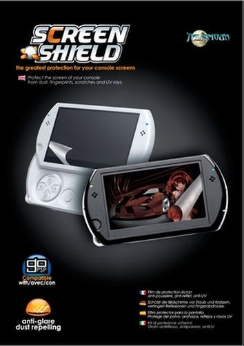 psp go! pellicola screen shield talismoon
