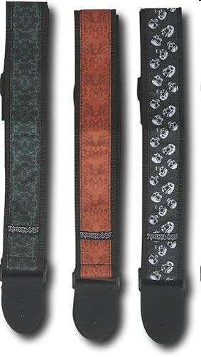 rock band tracolla chitarra licensed guitar strap
