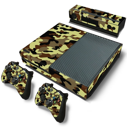 set adesivi pattern series decals skin vinyl camouflage v1 per console xbox one