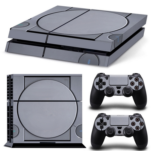 set adesivi pattern series decals skin vinyl retro console per console ps4