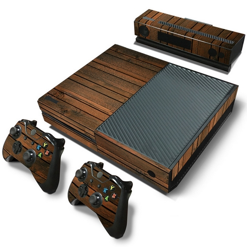 set adesivi pattern series decals skin vinyl wood v2 per console xbox one