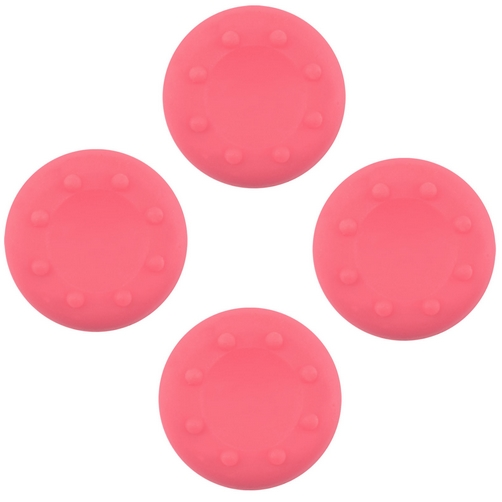 set grip gommini stick analogico rosa per controller ps4 - ps3 - xbox one - 360