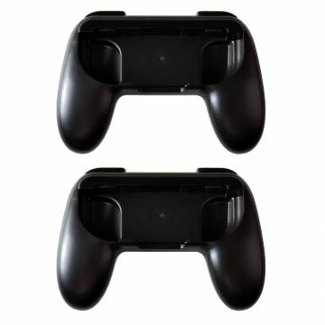 supporti joy-con controller grip dobe 2pz per console nintendo switch