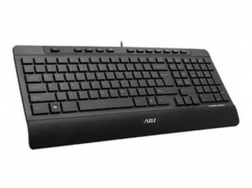 tastiera adj ta189 feeling multimedia keyboard usb nera